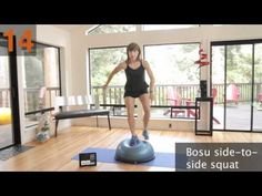 Mindy's Bosu Balance