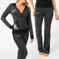 Love & Need this! Metal mulisha. Hoodie & Pants! Cute! Size Hoodie, medium. Size Pants, small. http://www.metalmulisha.com/shop/francie-hoodie/ http://www.metalmulisha.com/shop/francie-pant/
