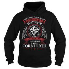 CORNFORTH Good Heart - Last Name, Surname TShirts