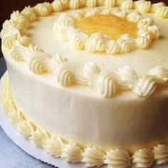 Lemon Genoise Cake