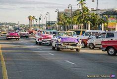 """Por la """"Avenida del Puerto"""" La Habana #Cuba. #CubaTravel  FOTO: Enviada por Cecilia Habanera"""