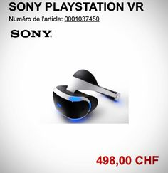 An awesome Virtual Reality pic! Swiss website (microspot) published PS VR preorder page. The price would be 498 CHF (around 455 euros) and the launch date would be 30.06.2016. None of this has been confirmed by Sony yet  ------------------------------ #oculus #oculusrift #playstation #playstationvr #psvr #xboxone #vr #virtual #reality #virtualreality #game #videogames #gamer #gaming #gamerlife #ps4 #facebook #sony #microsoft #jeuxvideo #jeux #jeu #xbox #consolegaming #pc #computer #nextgen…