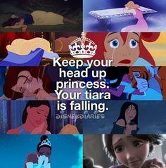 Never cry, princess <3