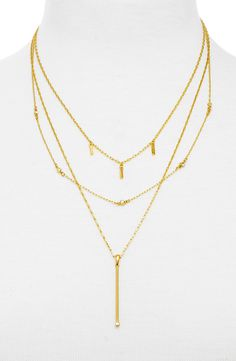 BaubleBar 'Twinkle' Layered Necklace