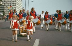 Parade at the 10th World Festival of Youth and Students (1973) in Berlin