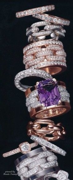 Gorgeous Rings Stacked! By Ralph Lauren