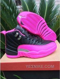 f7b73c42467 Buy 2017 Girls Air Jordan 12 Black Pink Shoes For Sale Top Deals from  Reliable 2017 Girls Air Jordan 12 Black Pink Shoes For Sale Top Deals  suppliers.