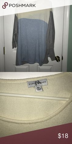Susan graver sweater Never worn. Thin sweater. Susan Graver Sweaters Crew & Scoop Necks