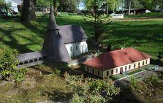 Kostel sv. Bartoloměje v Kočí Dalších 59 modelů českých památek čeká v Parku Boheminium. Skvělé místo pro výlet! Park, Parks