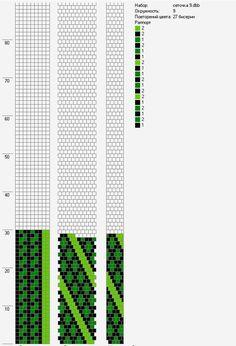 70 схем вязания крючком жгутов на 9-10 бисерин / Вязание с бисером / Biserok.org