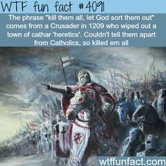 How bad and deadly were the Crusades - WTF fun facts