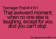This always happens to me(: