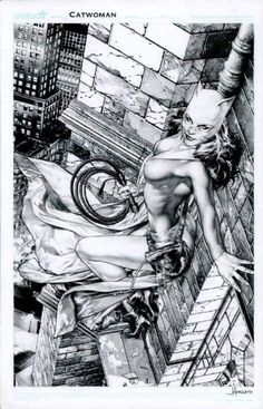 Catwoman by Jay Anacleto