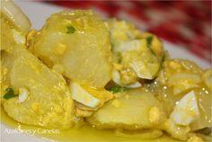 Patatas aliñadas   Azafranes y Canelas