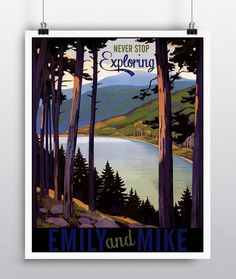 Wedding Gift Ideas For Outdoorsy Couple : ... and friends on Pinterest Exploring, Home posters and Outdoor travel