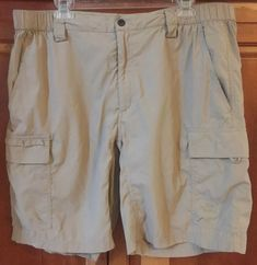 eb8d3111 The North Face Men's Hiking Cargo Shorts Tan Size XL Fishing Camping  #fashion #clothing