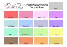 Sample Of Pastel Colors WallsKid