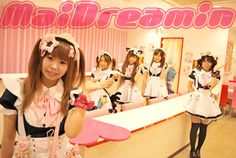 Maid Cafe: Maidreamin  http://maidreamin.com/english