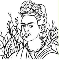 Free Frida Kahlo Embroidery Patterns