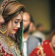 Very tough time 4 every girl Indian Wedding Gowns, Pakistani Wedding Outfits, Pakistani Wedding Dresses, Indian Bridal, Bridal Dress Design, Bridal Style, Pakistani Bridal Makeup, Bridal Hijab, Bridal Lehenga