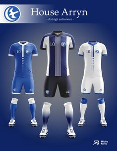 Concept - Game of Thrones football kits