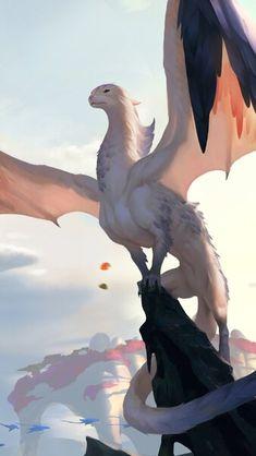 Legends of Runeterra Windfarer Hatchling HD Mobile, Smartphone and PC, Desktop, Laptop wallpaper resolutions. Legends of Runeterra Windfarer Hatchling [. Mythical Creatures Art, Mythological Creatures, Magical Creatures, Cute Fantasy Creatures, Fantasy Beasts, Creature Drawings, Animal Drawings, Dragon Artwork, Fantasy Monster