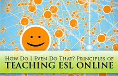 Principles of Teaching ESL Online - How Do I Even Do That? How do you effectively teach ESL online? Learn how with these online teaching tips! Teaching Activities, Teaching Tips, Teaching English Online, Teach Online, Flipped Classroom, Classroom Ideas, Languages Online, College Classes, English Language Learners