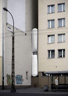 *어반보이드: 건물과 건물사이 [ Centrala ] Keret House :: 5osA: [오사]