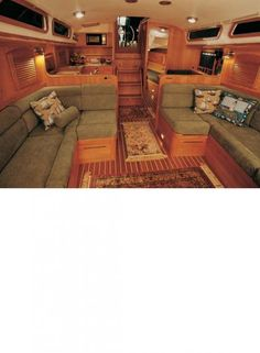 Sailboat Pictures; Sabre 426 Sailing Yacht - This interior is really nice
