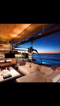 Modern Home with Ocean Views, Architecture Beast: Modern house designs: De Wet 34 by SAOTA Exterior Design, Interior And Exterior, Modern Interior, Modern Furniture, Tropical Interior, Modern Tropical, Modern Coastal, Interior Photo, Bespoke Furniture