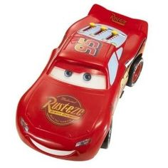 "If there was ever a toy to capture the spirit and personality of the star of the Disney/Pixar hit Cars, Walkin' Talkin' McQueen is it. Walkin' Talkin' McQueen goes one step further, literally, to bring you the fun, excitement and magic of the animated modern classic, ""Cars."" You can make him walk and talk, just like in the movie."