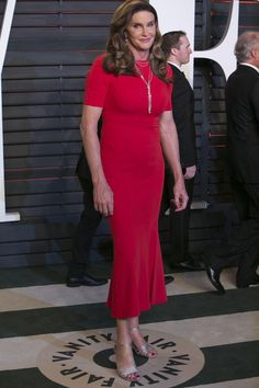 VF Oscars After Party Fashion 2016 Caitlyn Jenner