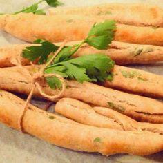 Mine matskriblerier: Grissini med smak av urter
