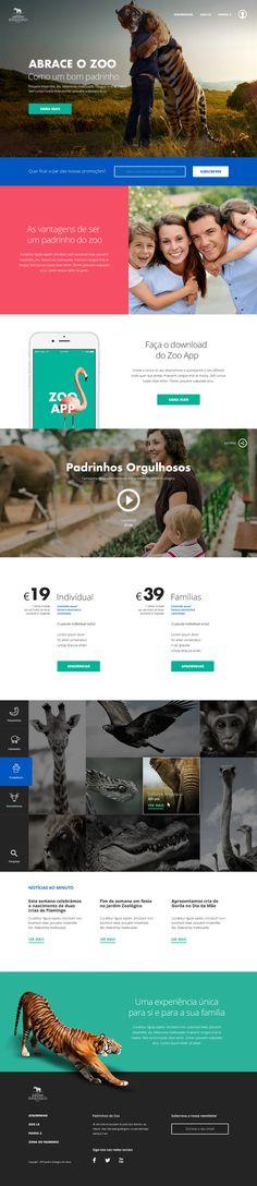 "School Project for Lisbon Zoo Campaign - ""Apadrinhamento do Zoo"""