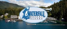 Gift Wrap A Fish At Alaska's Waterfall Resort - FamiGami