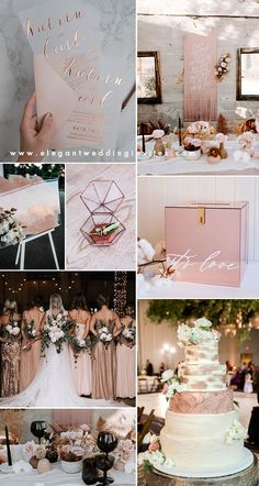 rose gold and neutral shades modern chic wedding color ideas gold wedding decoration 2020 Wedding Invitation Trends: Clear Vellum and Acrylic Rose Wedding, Chic Wedding, Dream Wedding, Wedding Day, Rose Gold Weddings, Pink Black Weddings, Ivory Wedding, Romantic Weddings, Wedding Invitation Trends