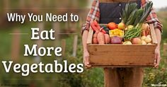 There are many benefits of vegetables to your overall health. Sprouting and fermenting them are two ways to boost nutritional value even further. http://articles.mercola.com/sites/articles/archive/2016/05/02/benefits-eating-vegetables.aspx