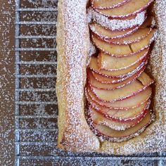 Apple Tart / Image via: Jennifer Chong #fall #autumn #food