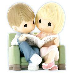 Precious Moments Couple Figurines