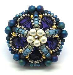 gwenbeads: Ionic Polyhedra Beaded Beads
