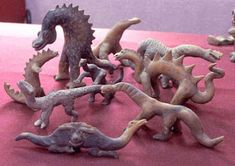 Najvece svetske misterije: Acambaro figurice ( Mystery of Acambaro,Dinosaur F. Ancient Aliens, Ancient History, Art History, Ufo, Out Of Place Artifacts, Dinosaurs Live, Les Experts, Historia Natural, Arte Tribal