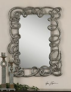 Taronda..Uttermost..for Lauren...a little contempo/whimsy twist...like frame color with her wall!