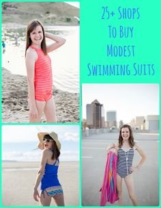 A list of 25 shops to buy modest swimming suits from