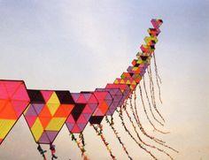 train of kites