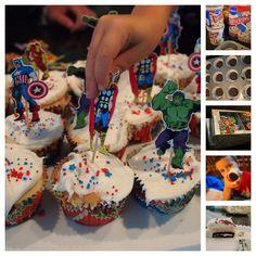 Superhero Birthday Party:  Food