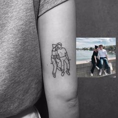 2,667 отметок «Нравится», 9 комментариев — 도기 (@tattooer_dogy) в Instagram: «couple»