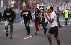 """""""Кровавый"""" марафон в Бостоне"""