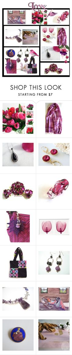 """""""Lots of  Love"""" by anna-recycle ❤ liked on Polyvore featuring modern, rustic and vintage"""