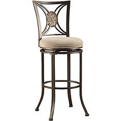 bar stools with wrought iron and round seats Google Search