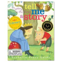 Amazon.com: eeBoo Tell Me a Story - Mystery in the Forest: Toys & Games
